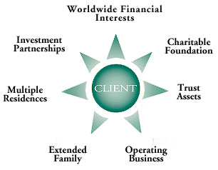 profile of a wealth management client